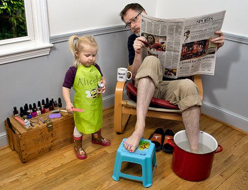 Was macht einen guten Vater aus? Väter für Studie gesucht für Deutschland, Österreich und Schweiz. Foto: Dave Engledow